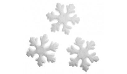 Śnieżynki styropianowe DALPRINT 75mm (24szt) DIST-010