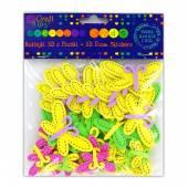 Naklejki z pianki 3D DALPRINT Motyle (50szt.) KSPI-090
