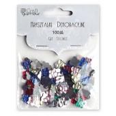 Kryształki dekoracyjne DALPRINT Motylki (100szt.) GRKR-101
