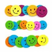 Naklejki z pianki DALPRINT Uśmiechy (30szt) KSPI-037