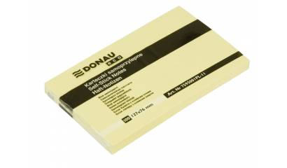 Bloczek samop. DONAU Eco 127x76 żółty 7595001PL-11