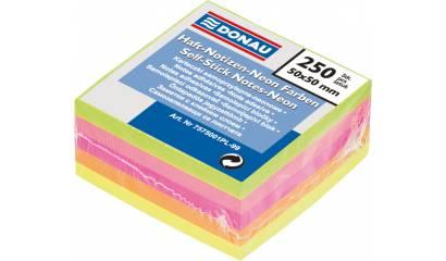 Bloczek samop. DONAU 50x50 mini neon (250) 7575001PL-99