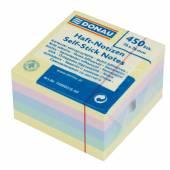 Karteczki samoprzylepne DONAU 76x76 kolor pastel (450) 7589001S-99
