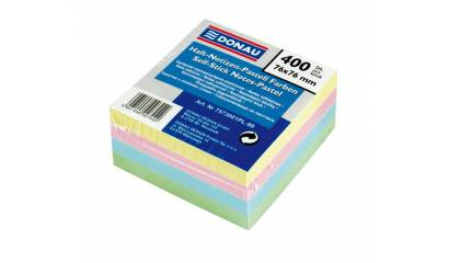 Bloczek samop. DONAU 76x76 kolor pastel (400) 7573001PL-99