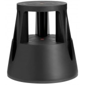 Taboret biurowy TWINCO Lift czarny TW60001-01