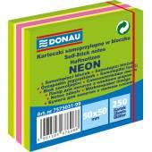 Karteczki samoprzylepne DONAU 50x50 neon zielona (250) 7575031-99