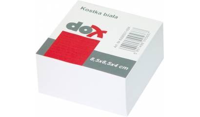 Bloczek wkład DOX /Office Products 85x85/40 biały nieklejony 14052311-14