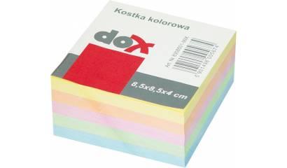 Bloczek wkład DOX/Office Products 85x85/40 kolorowy nieklejony 8308501-99X