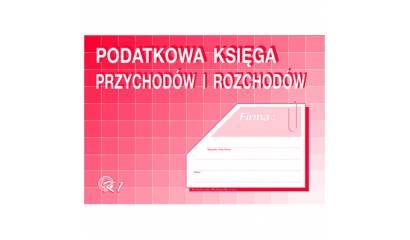 Druk Podatkowa księga przychodów i rozchodów A4 K-1 Michalczyk i Prokop