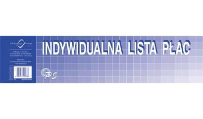 Druk Indywidualna lista płac 1/3 A3 P-5 Michalczyk i Prokop