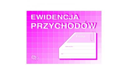 Druk Ewidencja przychodów A5 R-1 Michalczyk i Prokop