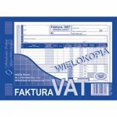 Druk Faktura VATpełna netto A5 (wielokopia) 100-3E Michalczyk i Prokop