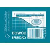 Druk DS. Dowód sprzedaży A7 wielokopia 260-9 Michalczyk i Prokop