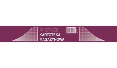 Druk Kartoteka magazynowa A5 (karton ofsetowy) 344-3 (50szt) Michalczyk i Prokop