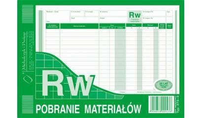 Druk RW Pobranie materiałów A5 wielokopia 373-3 Michalczyk i Prokop