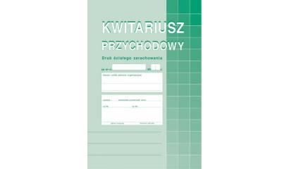 Druk Kwitariusz przychodów A5 (org.+2kopie) 400-3 MICHALCZYK I PROKOP