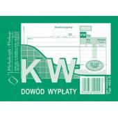 Druk KW dowód wypłaty A6 wielokopia 402-5 Michalczyk i Prokop