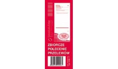 Druk Zbiorcze polecenie przelewów 1/2 A6 (org.+kopia) 405-7 Michalczyk i Prokop