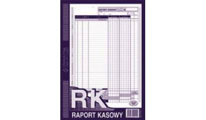 Druk Raport kasowy A4 (org.+kopia) 410-1 Michalczyk i Prokop