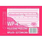 Druk Polecenie przelewu/wpłata got.4-odc. A6 (org.+3kopie) 445-5-M  Michalczyk i Prokop