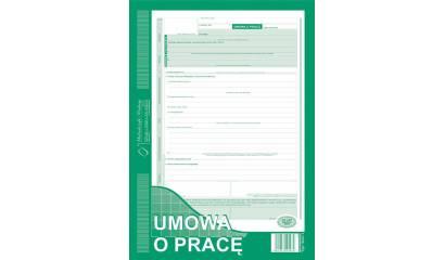 Druk Umowa o pracę A4 (org.+kopia) 500-1 Michalczyk i Prokop
