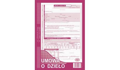 Druk Umowa o dzieło z rachunkiem A4 510-1 (org.+kopia) Michalczyk i Prokop