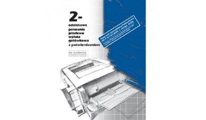 Druk Polecenie przelewu/wpłata got.4-odc. A4 do nadruku (100ark) 112-2 Michalczyk i Prokop