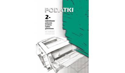Druk polecenie przelewu PODATKI 2-odc. A4 130-2 (100ark) do nadruku Michalczyk i Prokop