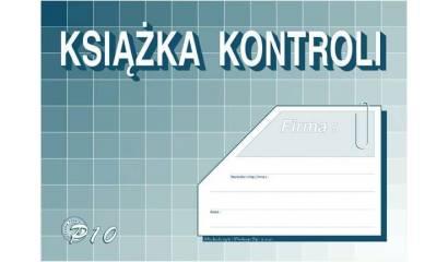 Druk Książka kontroli A5 P-10 Michalczyk i Prokop
