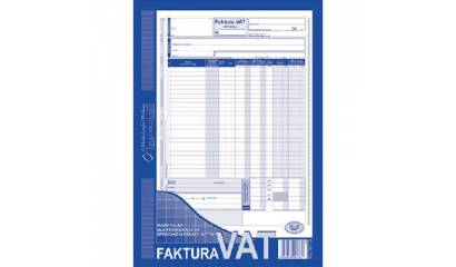 Druk Faktura VATpełna netto A4 (org.+kopia) 101-1E Michalczyk i Prokop