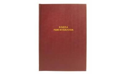 Druk Księga Inwentarzowa A4 715-B (płótno) Michalczyk i Prokop