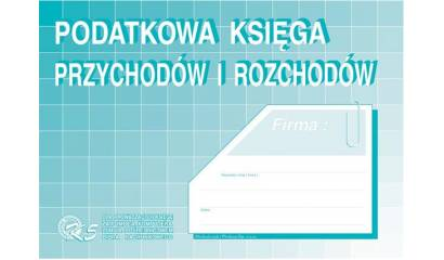 Druk Podatkowa księga przychodów i rozchodów (komputerowa) A4 K-5 Michalczyk i Prokop