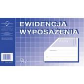 Druk Ewidencja wyposażenia A5 K-7 Michalczyk i Prokop