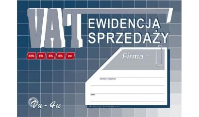 Druk Ewidencja sprzedaży VAT A5 VU4U Michalczyk i Prokop