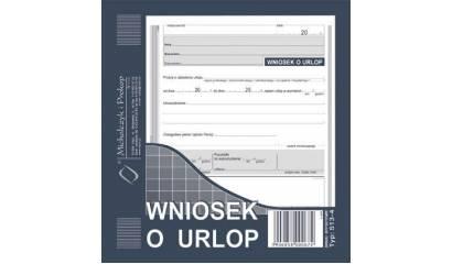 Druk Wniosek o urlop 2/3 A5 513-4 Michalczyk i Prokop