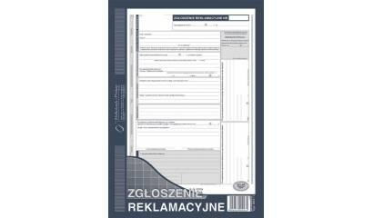Druk Zgłoszenie reklamacyjne A4 (org.+2kopie) 601-1 Michalczyk i Prokop