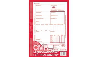 Druk CMR Międzynarodowy list przewozowy A4 (org.+3kopie) 800-1 Michalczyk i Prokop
