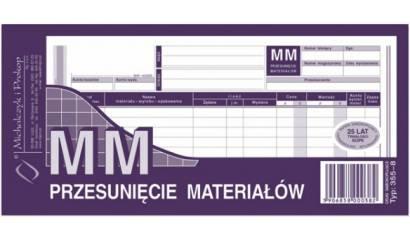 Druk MM Przesunięcie materiałów 1/3 A4 wielokopia 355-8 Michalczyk i Prokop
