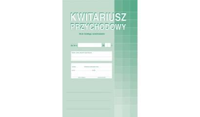 Druk Kwitariusz przychodów A4 (org.+2kopie) 400-1 Michalczyk i Prokop