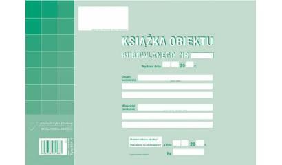Druk Książka obiektu budowlanego A4 604-1 Michalczyk i Prokop