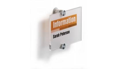Tabliczka informacyjna DURABLE CRYSTAL SIGN 148x105 4821