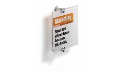 Tabliczka informacyjna DURABLE CRYSTAL SIGN 148x148 4822