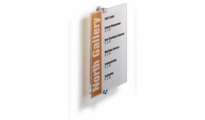 Tabliczka informacyjna DURABLE CRYSTAL SIGN 210x210 4824