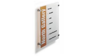 Tabliczka informacyjna DURABLE CRYSTAL SIGN 297x420 4826
