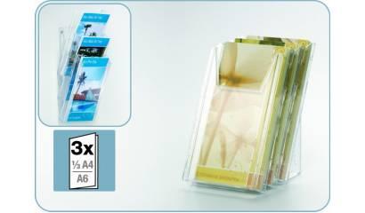 Półka na ulotki DURABLE Combiboxx 3 x 1/3 A4 L 8599-19