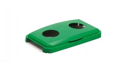 Pokrywa do pojemnik na śmieci DURABLE Durabin Lid 60 z otworami na puszki i butelki 1800501020