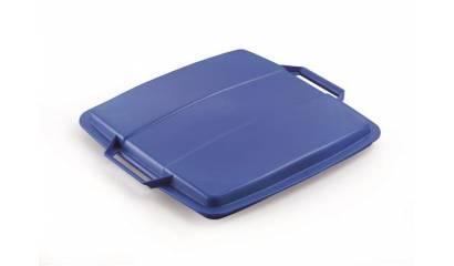 Pokrywa do pojemnik na śmieci DURABLE Durabin Lid 90 niebieska 1800475040