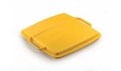 Pokrywa do pojemnik na śmieci DURABLE Durabin Lid 90 żółta 1800475030