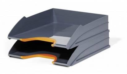 Zestaw 2 tacek na dokumenty DURABLE Varicolor pomarańczowy 770209
