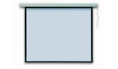 Ekran projekcyjny elektryczny 2x3 Profi Electric 240x240cm EEP2424/R